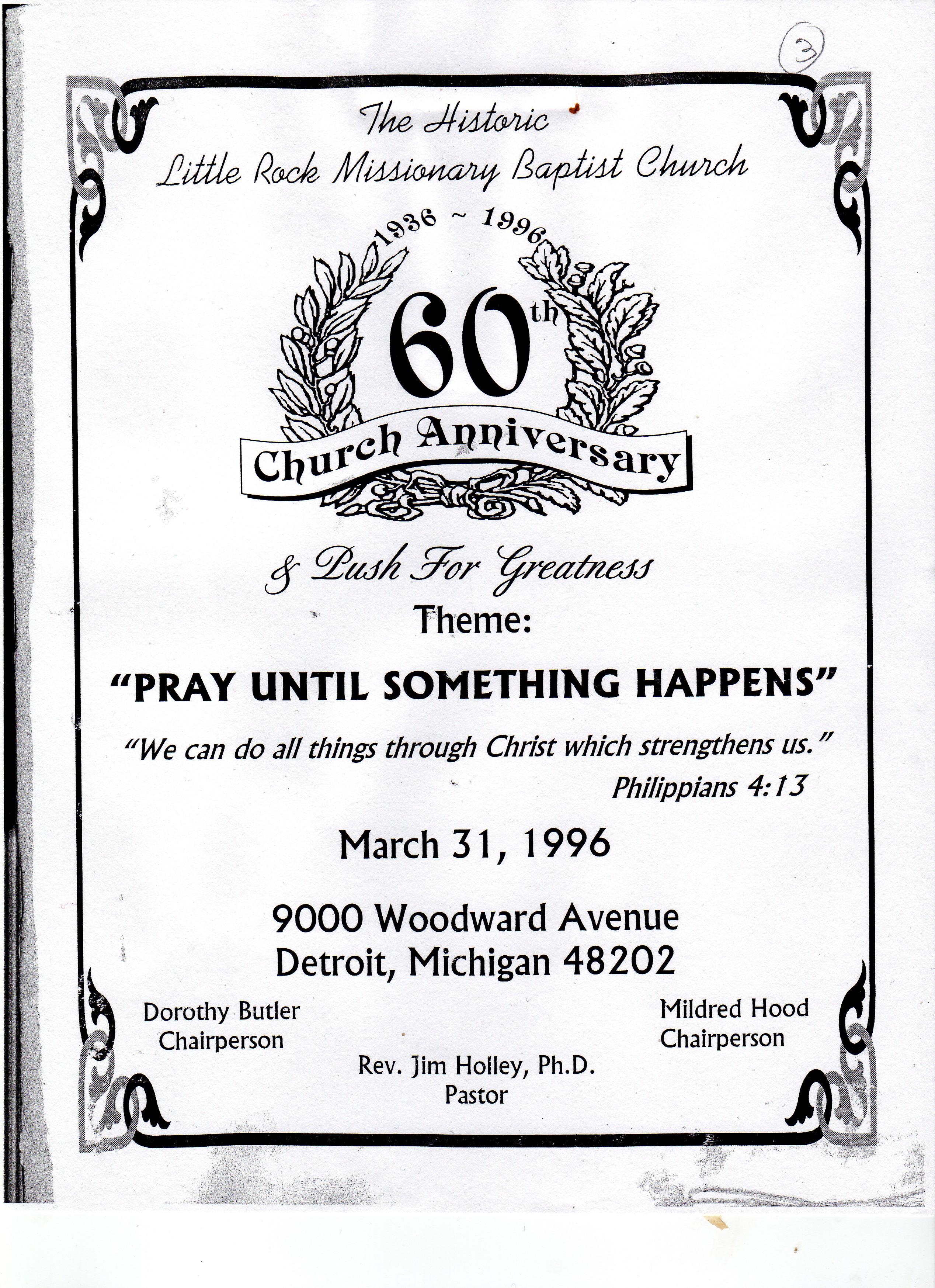 souvenir booklet ad template