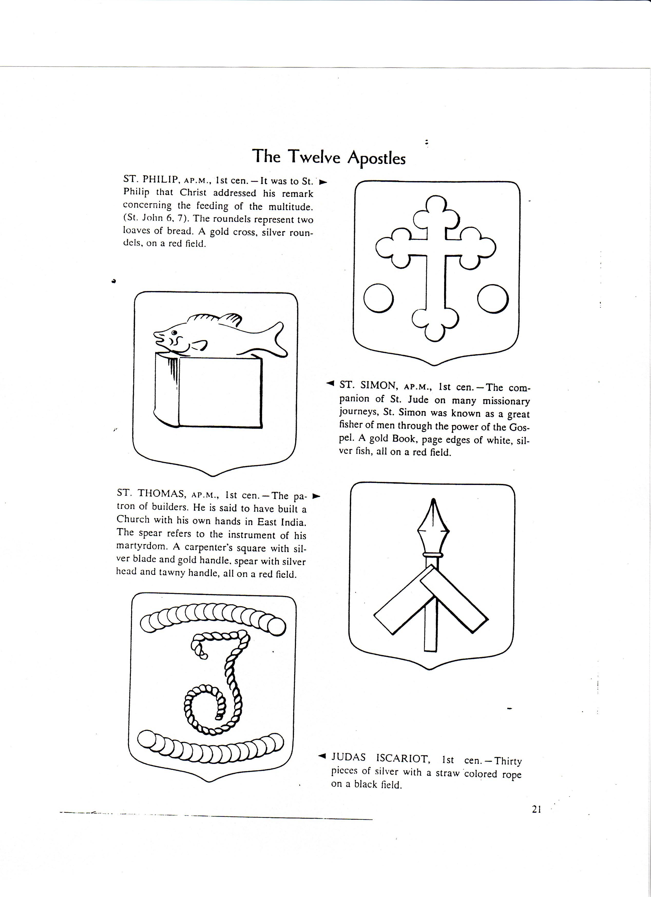 Detroit Black Churches Symbols Of 12 Apostles