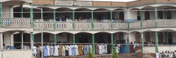 Friday Prayer at Kumasi Central Mosque