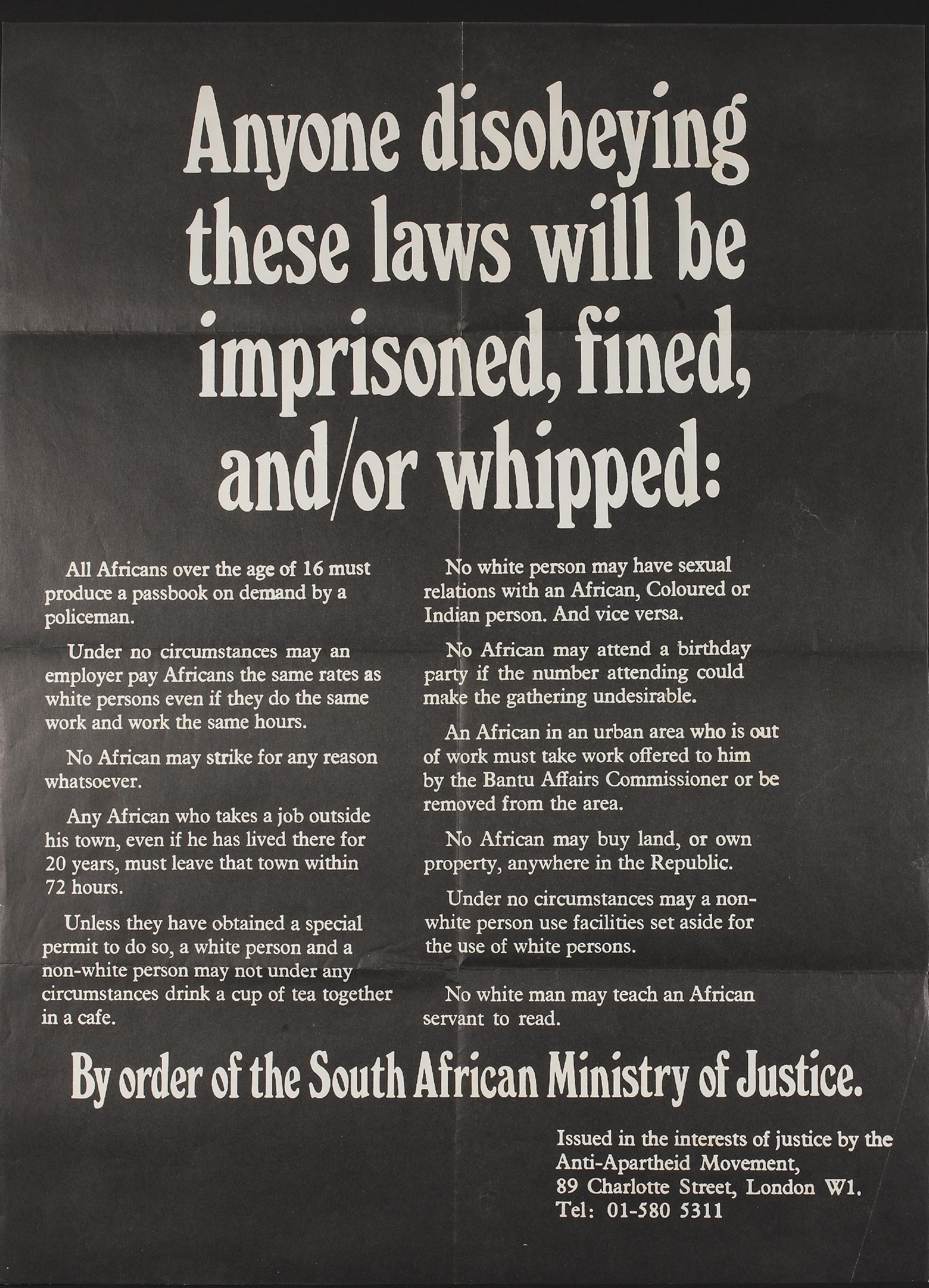 apartheid laws essay Apartheid was created by dr malan, and was introduced in 1948 in south africa it was made to separate the different races within south africa and the apartheid laws would force the black men.