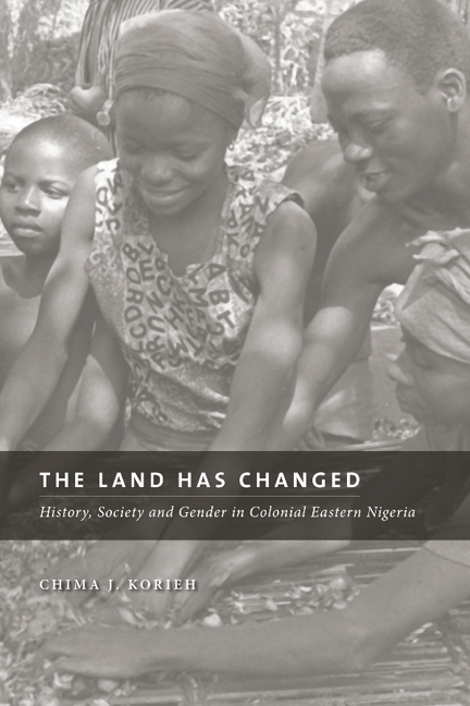The Land Has Changed cover