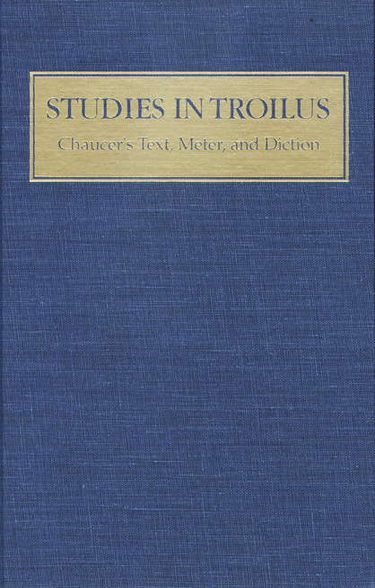 Studies in Troilus cover