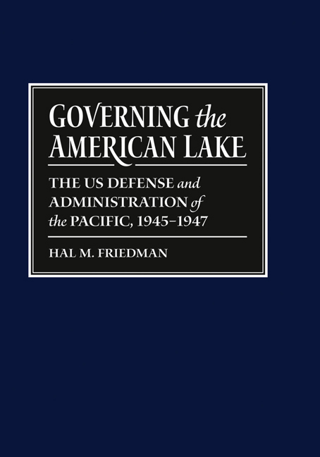 Governing the American Lake cover