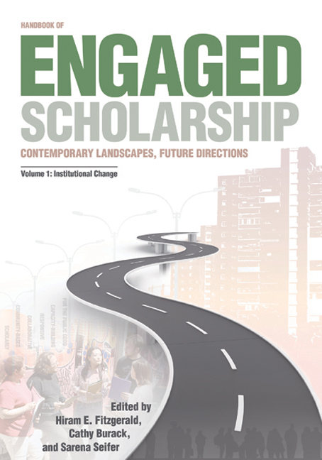 Handbook of Engaged Scholarship: Contemporary Landscapes, Future Directions cover
