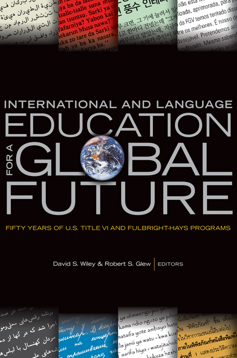 International and Language Education for a Global Future cover