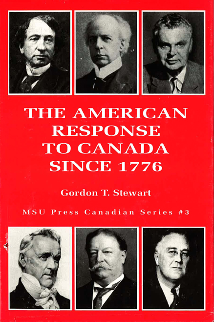 The American Response to Canada Since 1776 cover