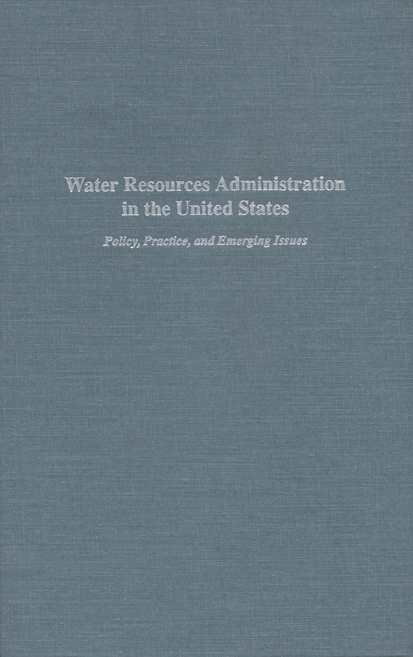 Water Resources Administration in the United States cover
