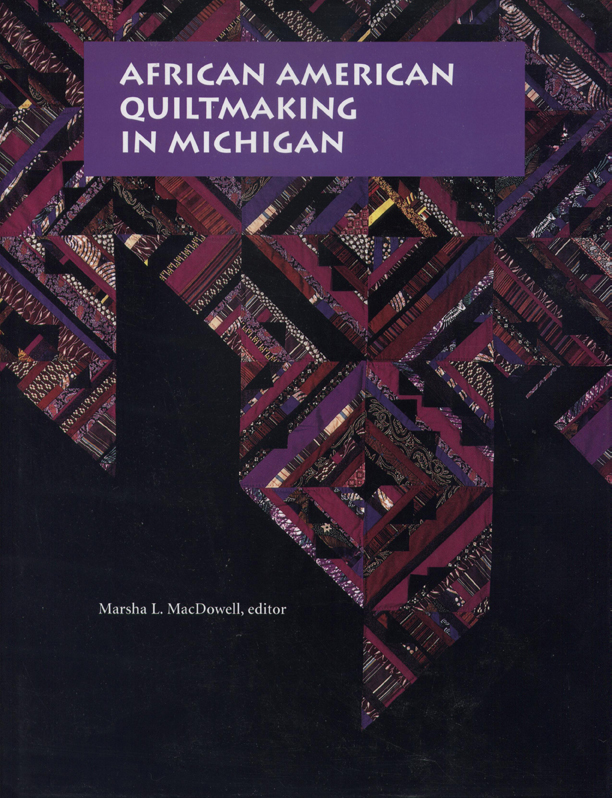 African American Quiltmaking in Michigan cover