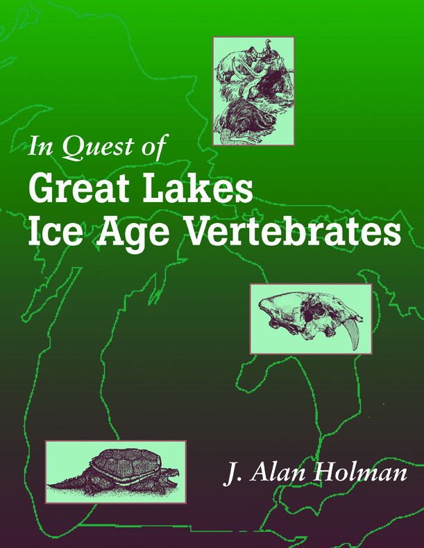 In Quest of Great Lakes Ice Age Vertebrates cover