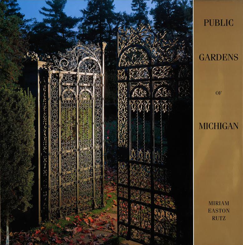 Public Gardens of Michigan cover