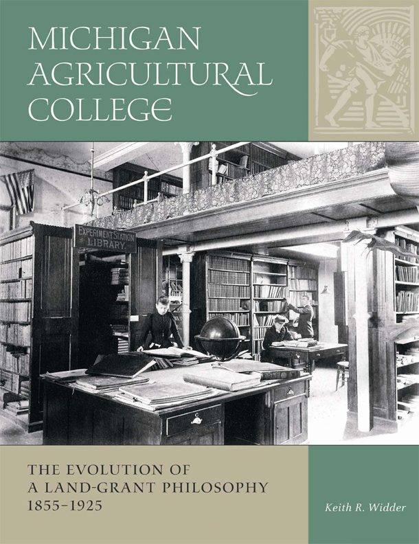 Michigan Agricultural College cover