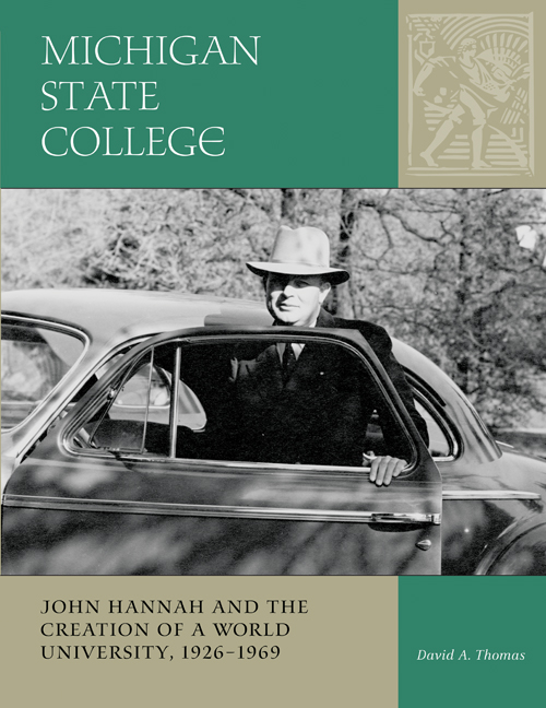 Michigan State College cover