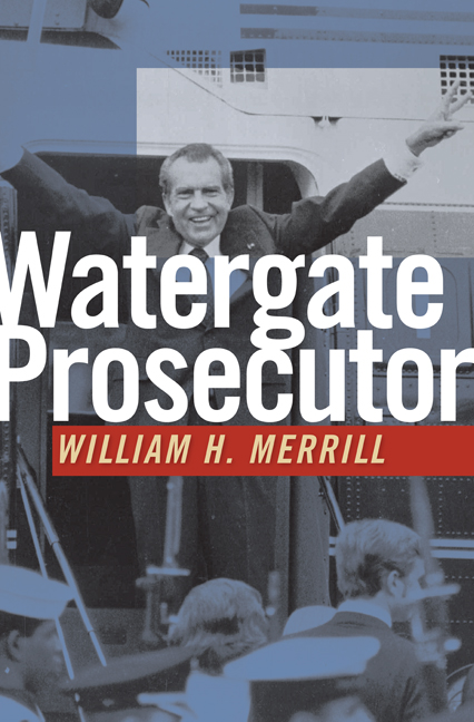Watergate Prosecutor cover