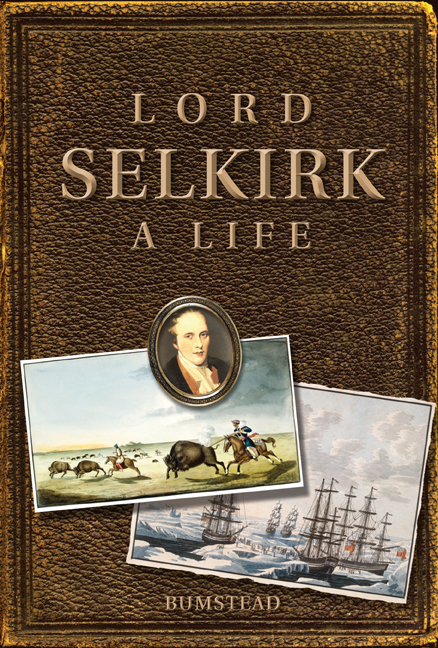 Lord Selkirk cover
