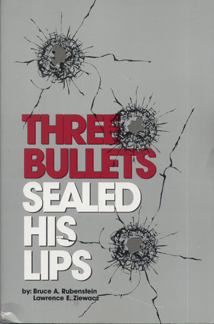 Three Bullets Sealed His Lips cover