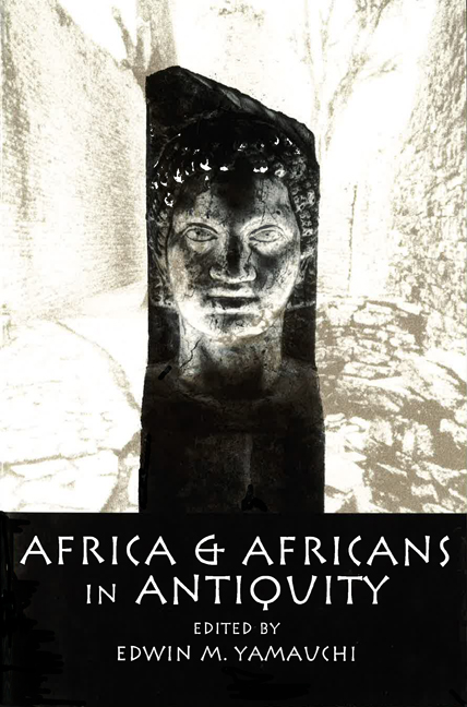 Africa & Africans in Antiquity cover