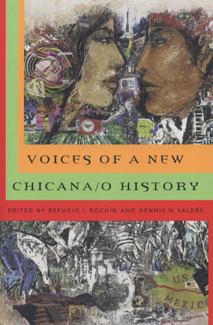 Voices of a New Chicana/O History cover