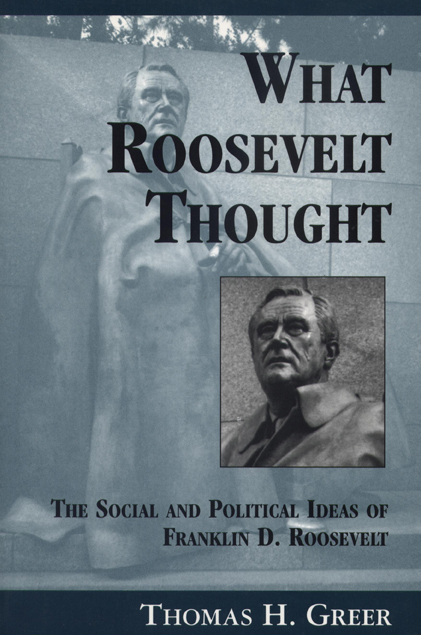 What Roosevelt Thought cover