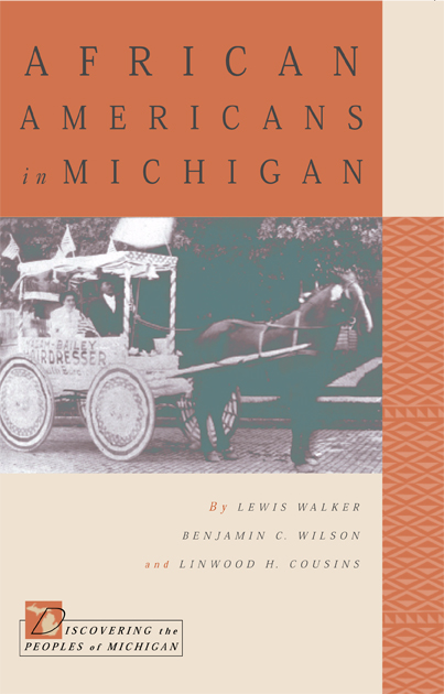 African Americans in Michigan cover