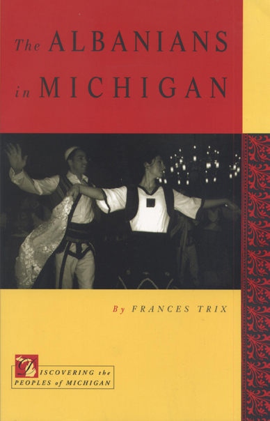 The Albanians in Michigan cover