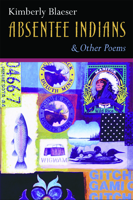 Absentee Indians and Other Poems cover