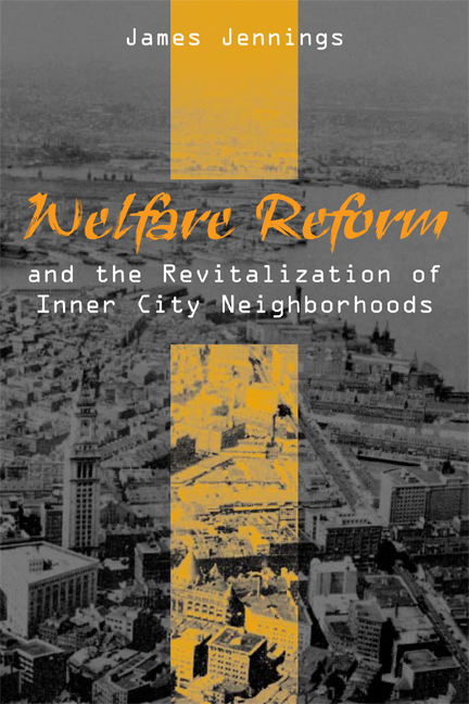 Welfare Reform and the Revitalization of Inner City Neighborhoods cover