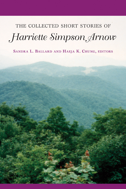 The Collected Short Stories of Harriette Simpson Arnow cover
