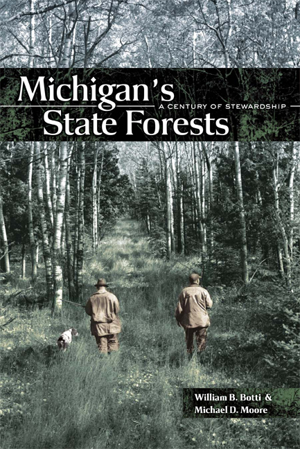 Michigan's State Forests cover