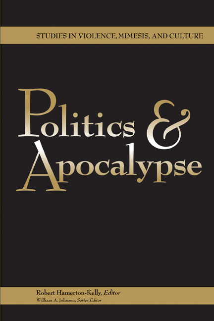 Politics and Apocalypse cover
