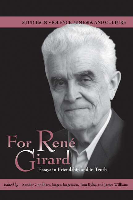 For René Girard cover