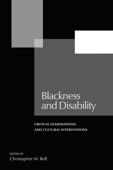 Blackness and Disability cover