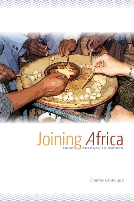 Joining Africa cover