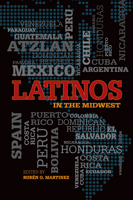 Latinos in the Midwest cover