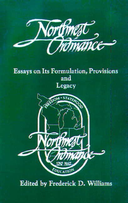 The Northwest Ordinance cover