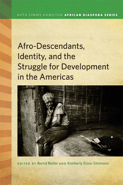 Afrodescendants, Identity, and the Struggle for Development in the Americas cover