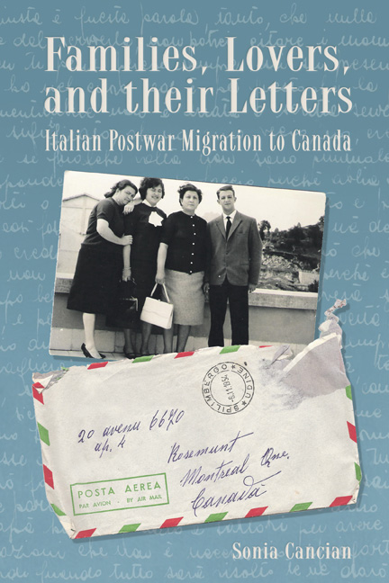 Families, Lovers, and their Letters cover