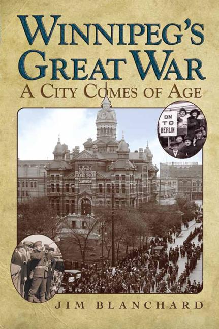 Winnipeg's Great War cover