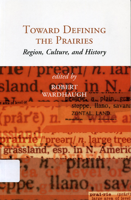 Toward Defining the Prairies cover