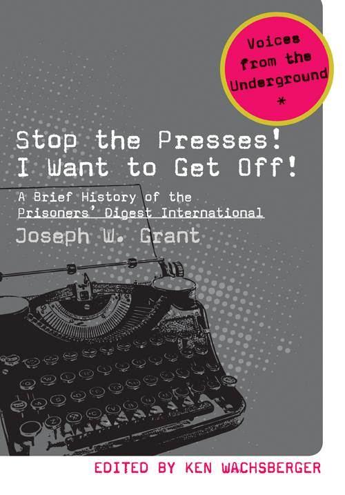 Stop the Presses! I Want to Get Off! cover