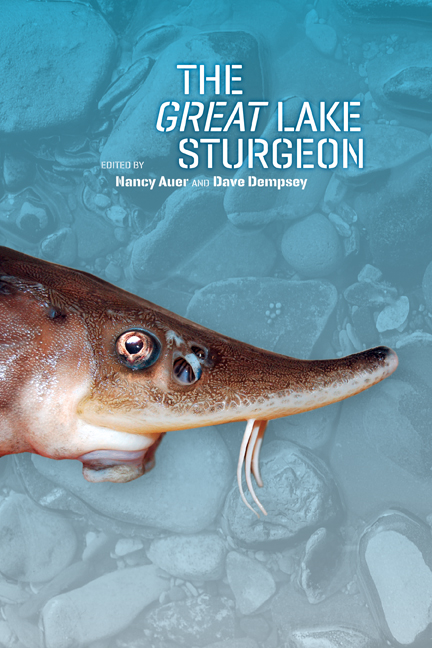 The Great Lake Sturgeon cover