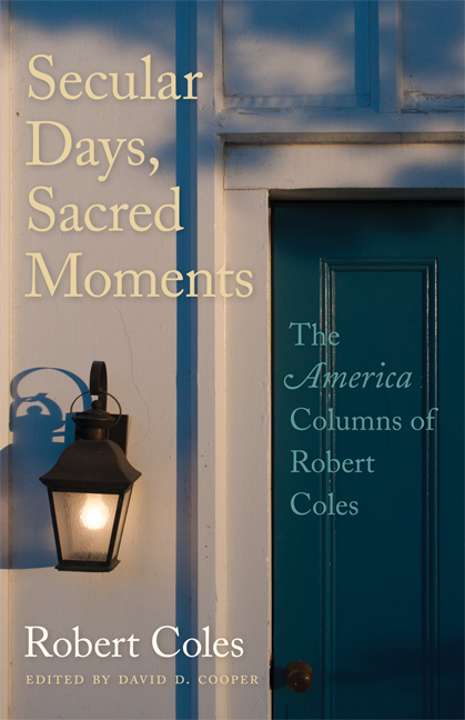 Secular Days, Sacred Moments cover