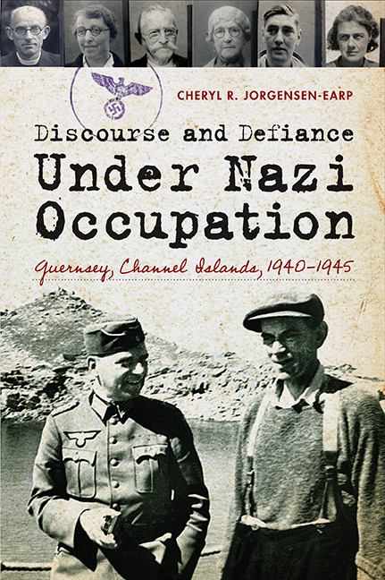 Discourse and Defiance under Nazi Occupation cover