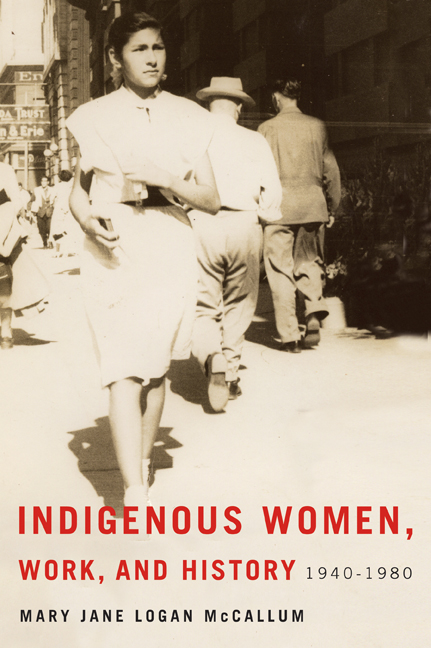 Indigenous Women, Work, and History cover