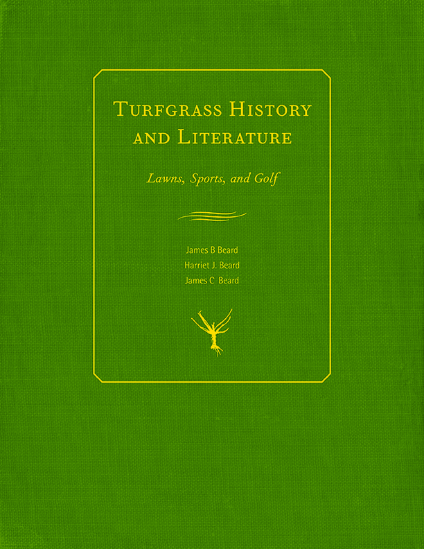 Turfgrass History and Literature cover