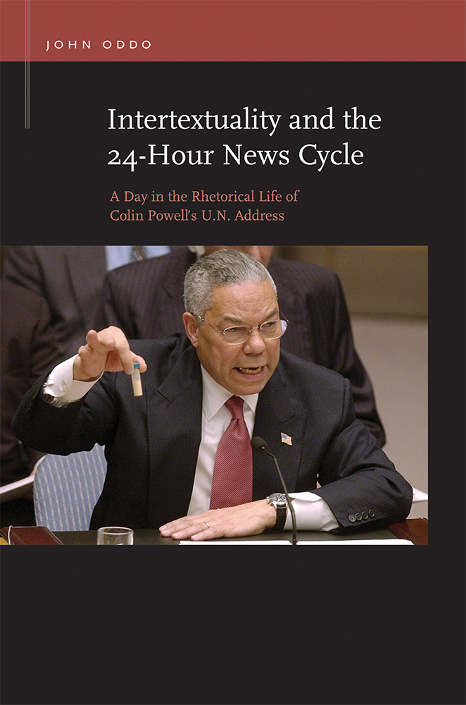 Intertextuality and the 24-Hour News Cycle cover