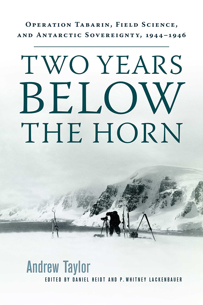 Two Years Below the Horn cover