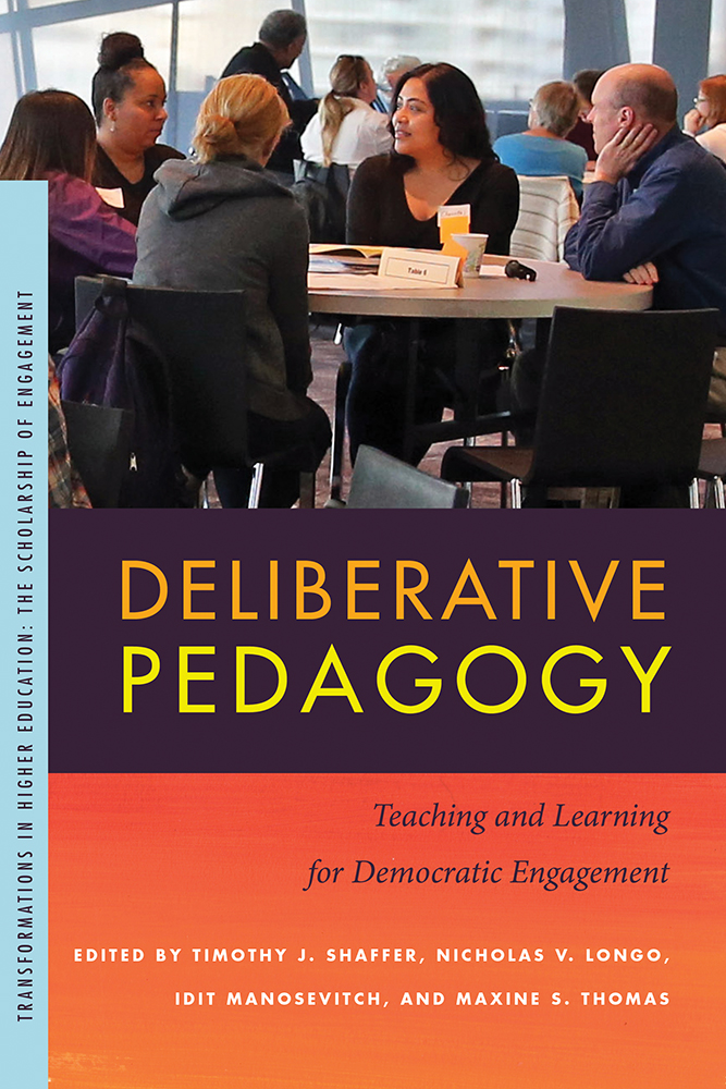 Deliberative Pedagogy cover