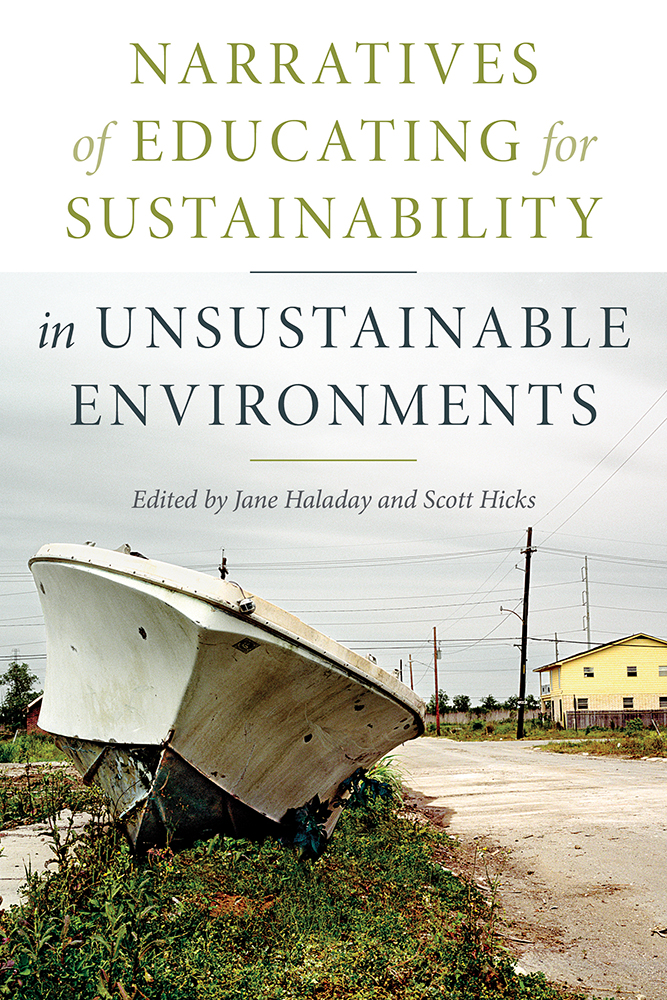 Narratives of Educating for Sustainability in Unsustainable Environments cover