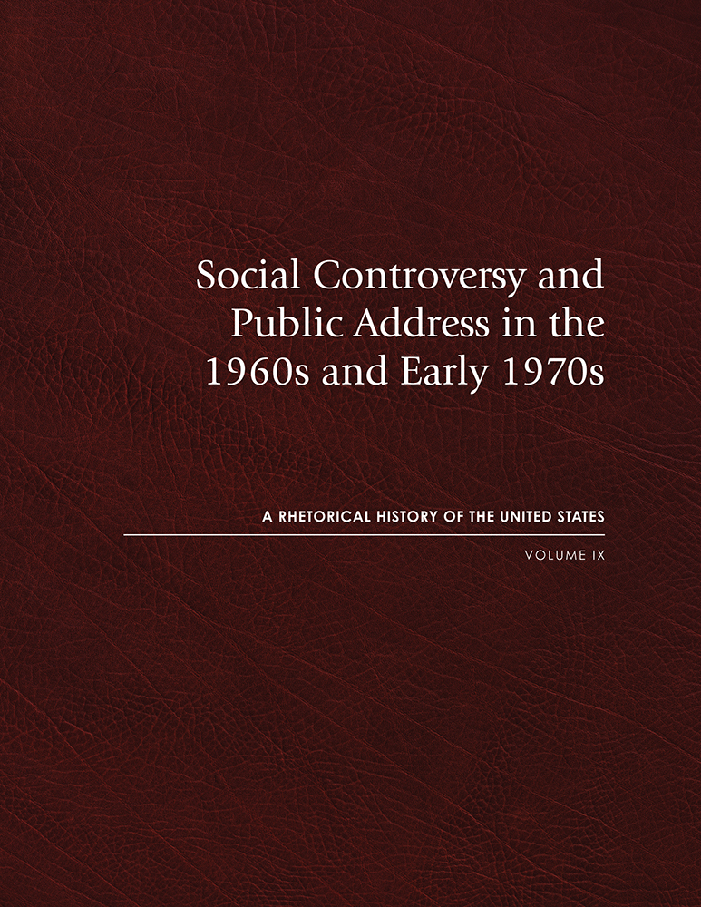Social Controversy and Public Address in the 1960s and Early 1970s cover