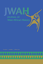 Journal of West African History 4, no. 1 cover
